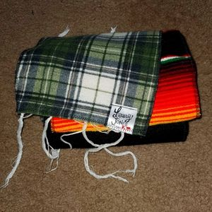 Nwot free people Mexican blanket scarf pin up
